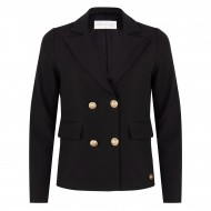 Delousion Jacket Linsey - Black