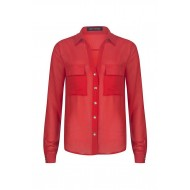 BLOUSE DIXIE - RED LM